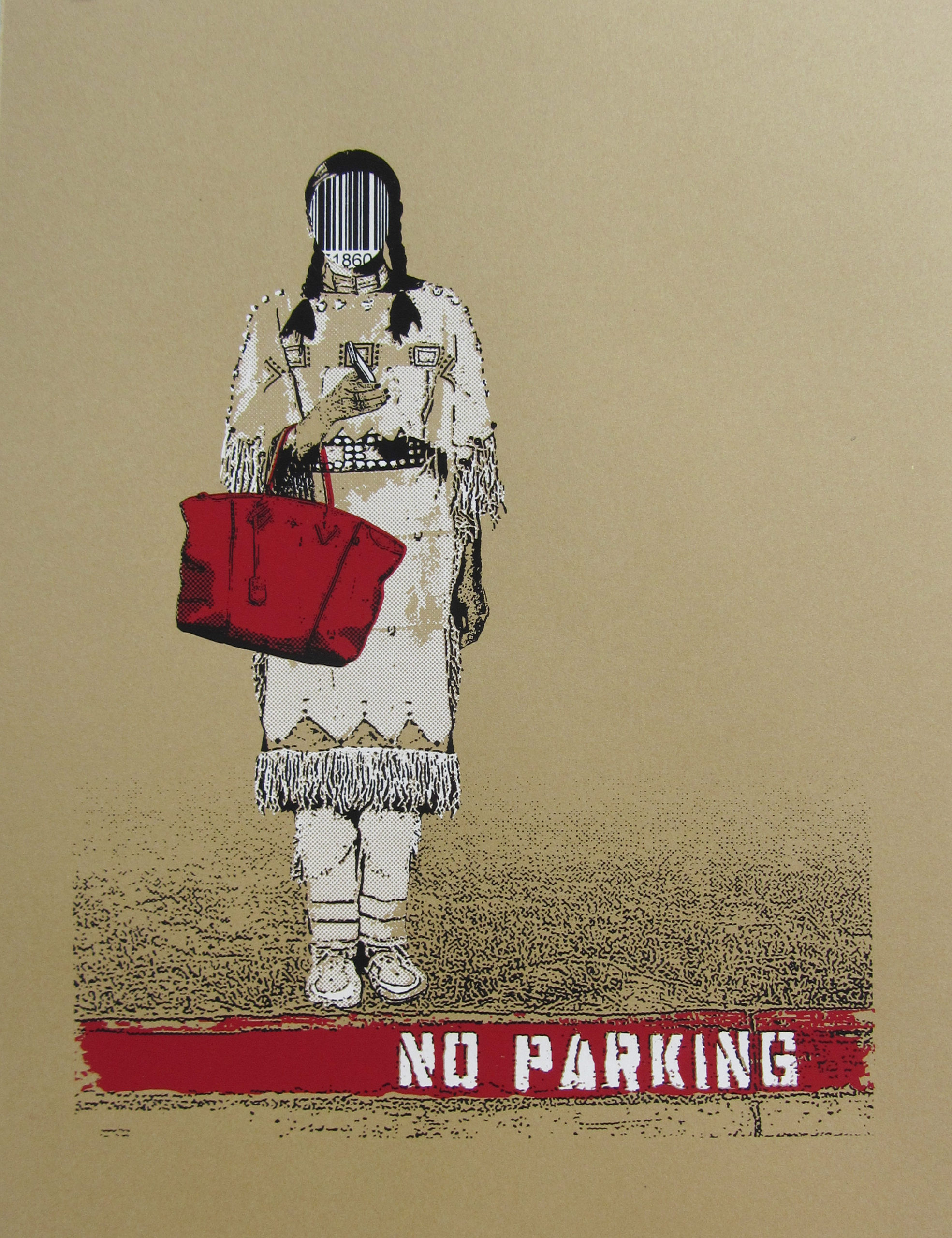No Parking by Rebecca Burns